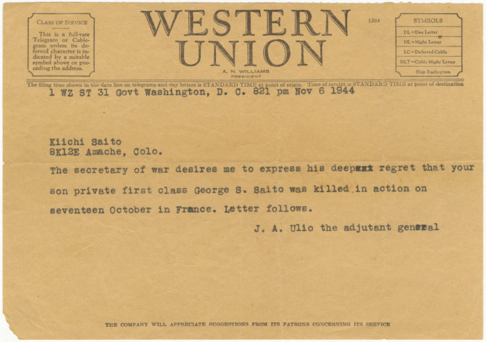Telegram To A Father Exploring Americas Concentration Camps